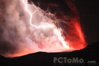 新燃岳の噴火